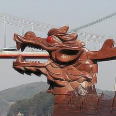 조형물제작 frp조형물 거북선용머리 용머리조각 뱃머리조형물 용조형물 용모형