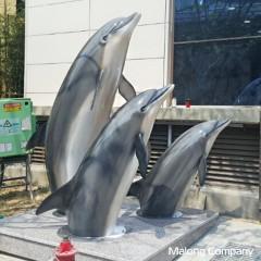 조형물제작 frp조형물 포토존제작 돌고래모형 돌고래조형물 돌고래조각 동물조형물 울산조형물 동물모형