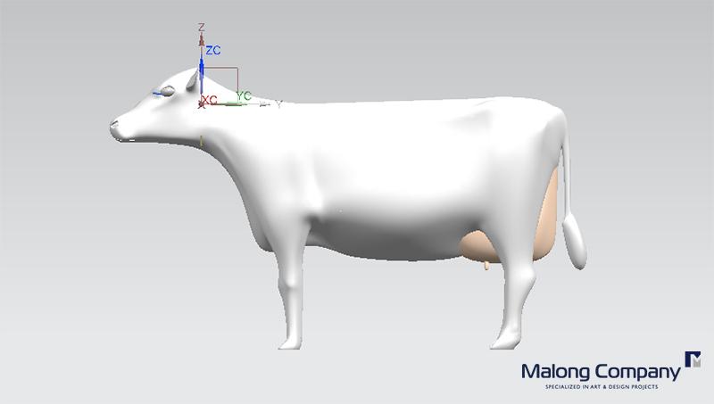 조형물 3D 디자인