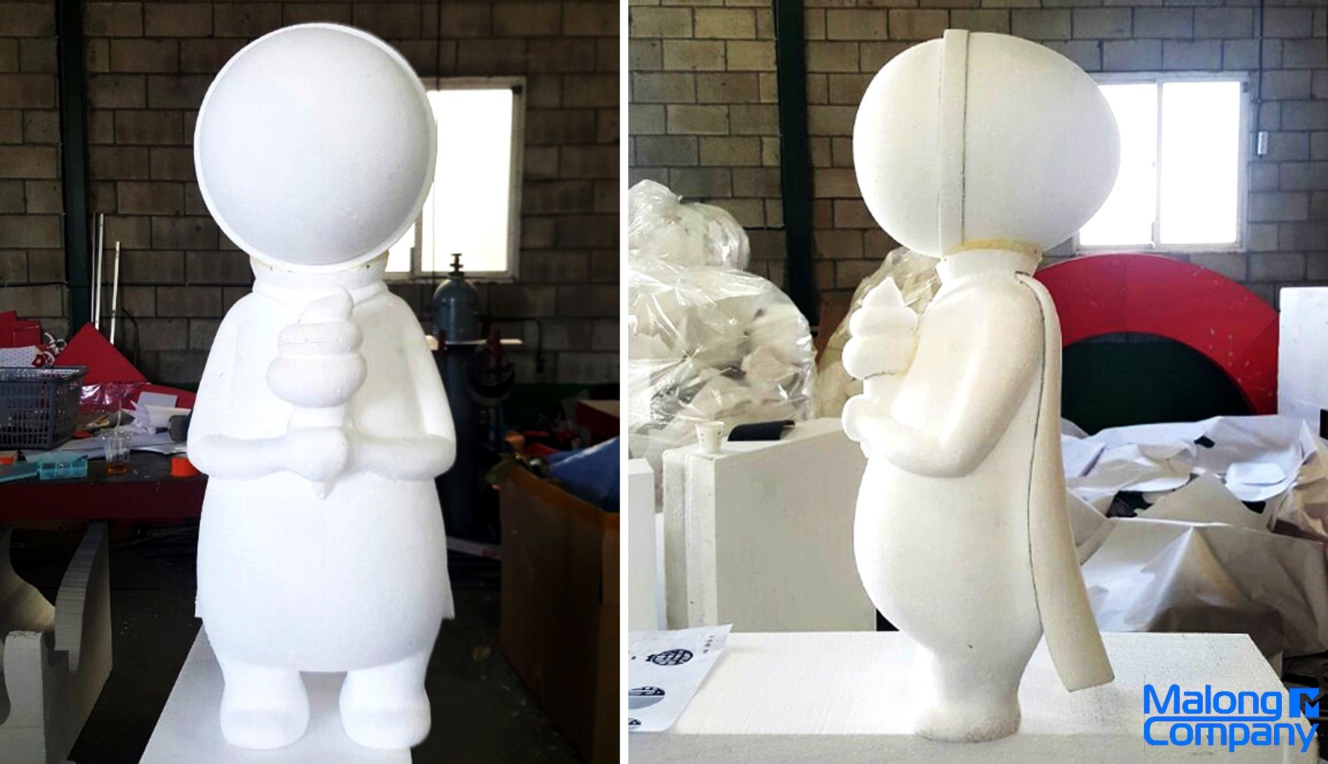 아이스크림 조형물 제작 스티로폼 모형 제작 FRP 캐릭터 조형물 설계 FRP 조형물 설치 캐릭터 모형 야외 조형물 보수 스티로폼 조형