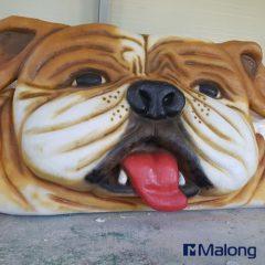 강아지동상
