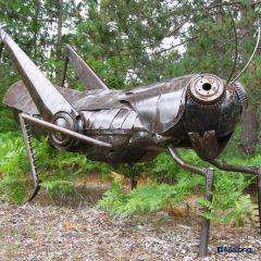 곤충조형물