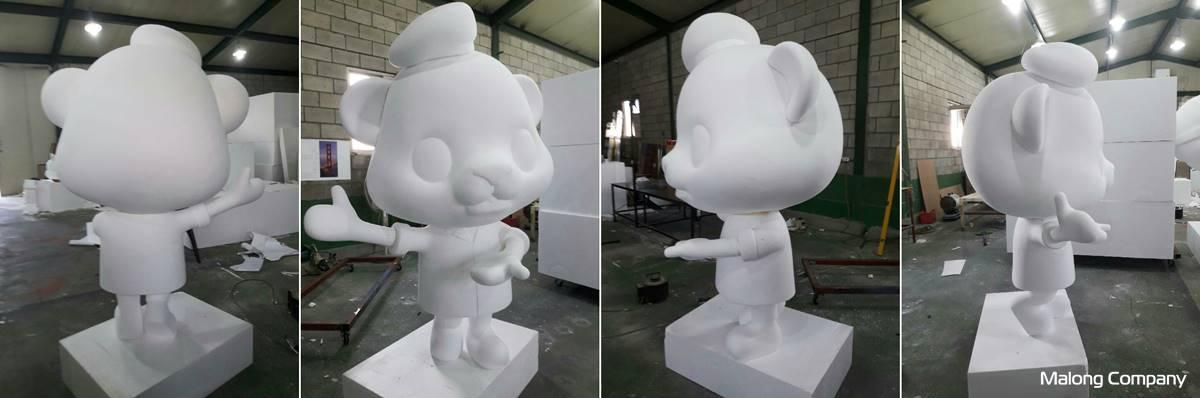 [FRP 캐릭터 조형물 제작] 용산 전쟁기념관 야외 캐릭터 조형물