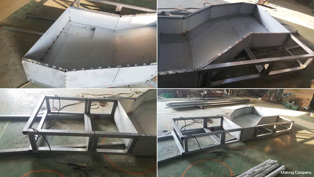 [GRC 인공 폭포] 호텔 실내 로비 GRC 인공 연못 제작 설치 사례